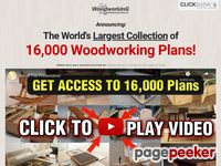 Get 16,000 Woodworking Plans & Projects With Videos