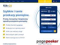 Przelewy z Anglii do Polski – Klik-24