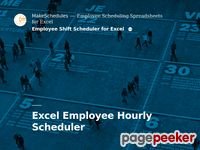 Makeschedules.com - Make schedules | Excel employee scheduling templates. Schedule employees.