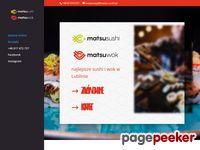 Matsu Sushi - sushi w lublinie i warszawie