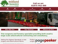 Midlandforestry.co.uk - Forestry Tree Surgeons  Arboricultural Specialists
