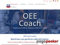 Oeecoach.com - OEE Coach: The answer to your OEE questions