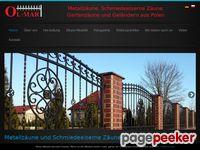 Ogrodzenia i bramy metalowe