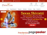 Onlinepuja.com - Free Online Puja Services, Hindu Temple Yagnas, Homams