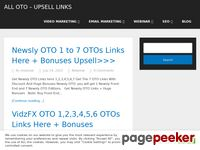 OTOs Links - All One Time Offer To Direct Sales Pages With Discount