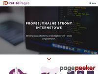 Profesjonalne i tanie strony www | PetitePages.pl