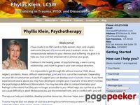 Phyllisklein.com - Phyllis Klein Psychotherapy