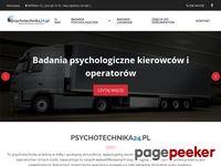 Psychotechnika24.pl - Badania Psychotechniczne - Warszawa