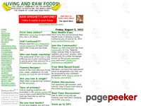 Rawfoods.com - Living and Raw Foods: The largest community on the internet for living and raw food information