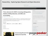 Researchity.net - Researchity - Exploring Open Research and Open Education | What you get when Research and Community come together