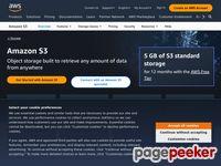 S3.amazonaws.com - Amazon Simple Storage Service (S3) — Cloud Storage — AWS