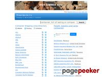 Shippingline.org - Container Shipping Lines Directory - International shipping companies