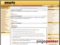 Smarty.net - PHP Template Engine   Smarty