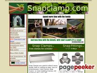 Snapclamp.com - Snap Clamps and furniture grade pvc fittings. Free greenhouse plans.