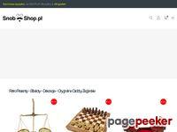 Snob-shop.pl - oryginalne prezenty, bibeloty