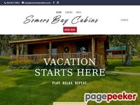 Somersbaycabins.com - Somers, Montana Lodging - Somer's Bay Log Cabins - Accommodations on Flathead Lake