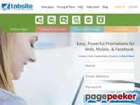 Tabsite.com - TabSite | Promotions Apps to Grow Leads and Engagement
