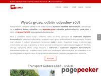 transport-gabara.pl kontener na gruz Łódź