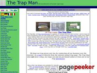 Trap-man.com - Trap-Man com, UK manufacturers of humane cage traps, Quick UK delivery from Trap-Man's stock of mouse traps, rat traps,fox traps,rabbit traps,mink traps,magpie traps,<meta name=