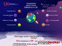 Tworzenie stron Anglia reklama UK