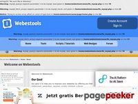 Webestools.com - Webestools : free online tools for webmasters services, counters of pages views visits visitors clicks live scripts and tutorials php javascript mysql html css flash photoshop tutorials generators banners buttons images web 2.0 animated images maker guestbook news system survey tchat ajax free webmasters tools online menu userbar signatures... - Webestools