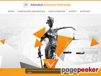 Tutaj już jest lub wkrótce pojawi sie aktualny zrzut strony Kancelaria adwokacka adwokat Seweryn Pytlewski -...
