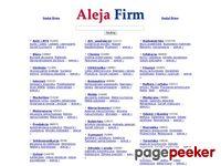 Wizytówki firm w AlejaFirm.pl