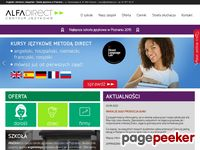 alfadirect.pl - szkoła językowa