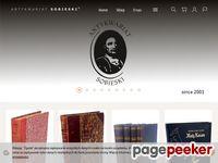 Antykwariat Sobieski starodruki książki grafiki introligatornia oprawa ksiąg