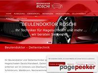 Beulendoktor Roschi Ausbildung zum Dellentechniker bzw.Beulendoktor
