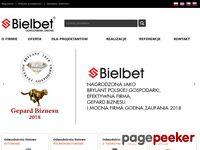 Bielbet - produkcja odwodnień
