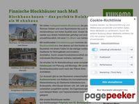 Blockhaus Kuusamo - Moderne Holzhäuser nach Maß in Blockbauweise