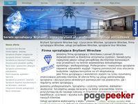 Sprzątanie Wrocław - firma sprzątająca 'Bryliant'
