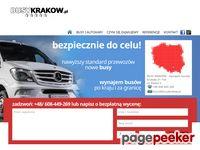 Wygodny przewóz osób Kraków