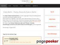 Clubguide Berlin - Clubsuchmaschine für Berlin