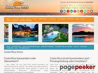 Costa Rica Immobilien, Costa Rica Real Estate, Costa Rica Bienes Raices