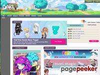 screenshot of www.gaiaonline.com