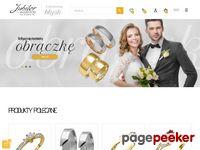 Obrączki dwukolorowe i pierścionki zaręczynowe