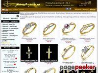 Jubiler - Biżuteria złota, srebrna, bursztyn, korale, zegarki złote