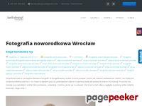 Tutaj już jest lub wkrótce pojawi sie aktualny zrzut strony Fotografia noworodkowa Wrocław, sesja noworodkow...