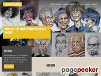 Tutaj już jest lub wkrótce pojawi sie aktualny zrzut strony Karykatury - rysowane prezenty...