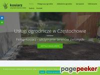 Kosiarz - Ogrodnicze Usługi w Częstochowie