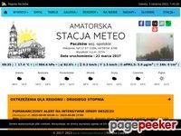 Amatorska Stacja Meteo - Pogoda Paczków