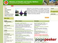 Welcome to Ministry of Health and Family Welfare (Mohfw.gov.bd)