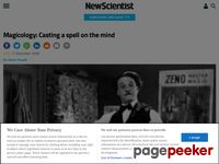 http://www.newscientist.com/article/mg20026872.900-magicology-casting-a-spell-on-the-mind.html