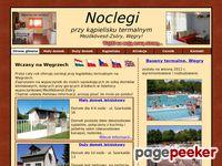 Domki letniskowe przy wodach termalnych - Węgry