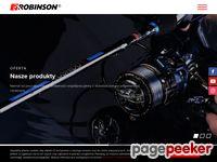 Robinson - kołowrotki, wędki wyczynowe, zanęta, sprzęt wędkarski