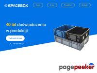 Www.spacebox.pl opakowania zwrotne