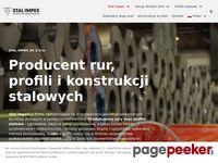 Producent rur i profili stalowych