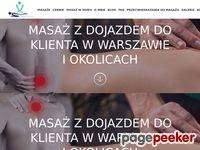 Masaż Leczniczy - Warszawa
